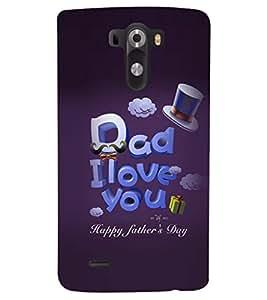 PRINTSHOPPII LOVE QUOTES Back Case Cover for LG G3::LG G3 D855