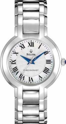 Bulova 96L168 Ladies Precisionist Silver Watch