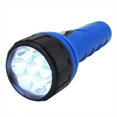 7 LED Rechargeable Wall Socket Charge L.E.D Flashlight
