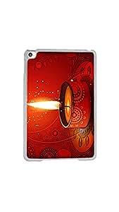 Happy Diwali Festival Of Lights 2D Designer Mobile Case/Cover For Apple iPad Mini 4