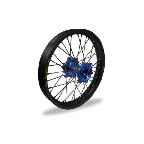 Pro Wheel MX Rear Wheel Set 18x2.15 Black Rim/Blue Hub Black