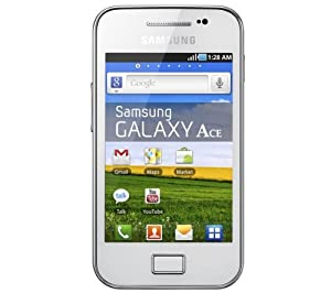 Samsung Galaxy Ace Display 3.5 Pollici Colore Bianco
