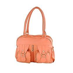 Smartway Women's Handbag(Peach Puff,Swhb-0273)