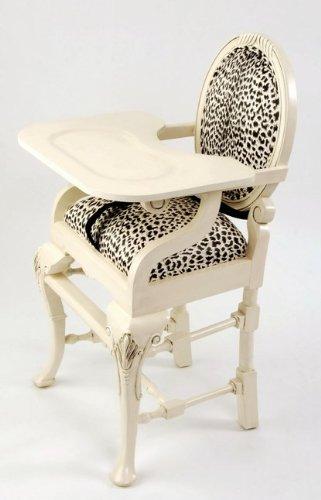 Leopard High Chair
