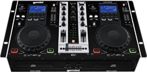 New Gemini DJ CDM - 3650 Multi - Disc DJ CD Player