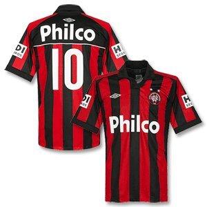 2011 Atletico Paranaense Home Jersey + No.10 - XL