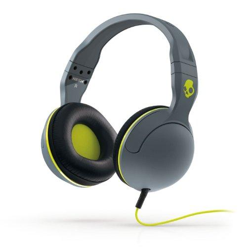 Skullcandy S6Hsfm-351 Hesh 2 Headphones W/Mic3 Gray/Black/Lime, One Size