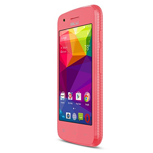 BLU Dash L Unlocked Smartphone - Global GSM - Pink