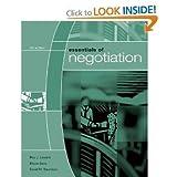 Essentials of Negotiation 4TH EDITION