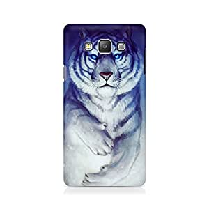 Ebby White Tiger Premium Printed Case For Samsung On 7