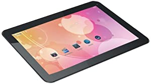 Klü 10.1-Inch Internet Tablet, Capacitive Touch Screen, Android 4.1 with Front Camera, 1.2 GHz, 1 GB RAM