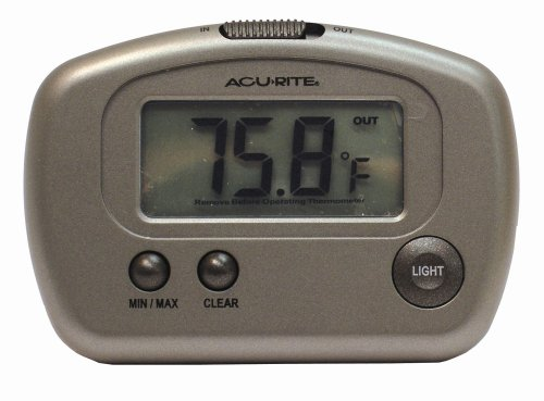 Chaney Instrument AcuRite Indoor/Outdoor Digital Thermometer
