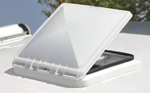 Camco 40152 RV New Jensen Polypropylene Replacement Vent Lid for Metal Vent