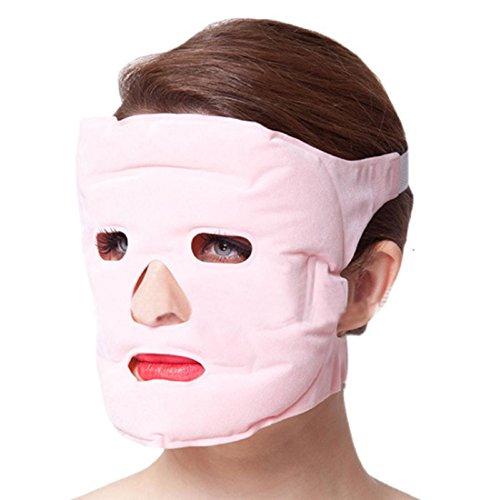 Ularmo gel chaude de tourmaline de vente visage mince masque de beauté du visage