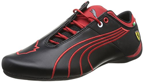 Puma Ferrari Future Cat M1 Tifo, Sneaker uomo, Nero (Nero (nero)), 41