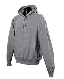 Champion 12 oz. 82/18 Reverse Weave Pullover Hood, Oxford Gray, XL