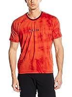 Milo Camiseta Manga Corta Famme Unisex (Rojo)