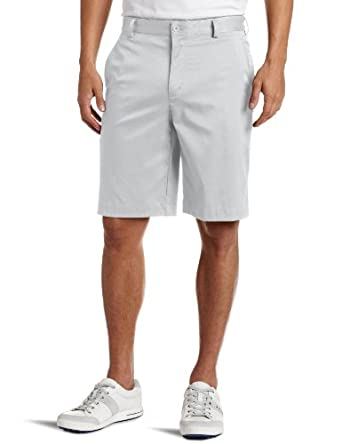 Nike Golf Men's Flat Front Tech Short, White, 33