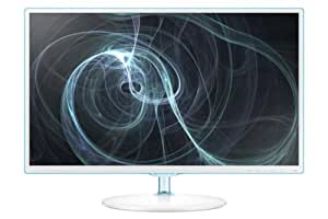 Samsung Simple LED 27-Inch Monitor, White with Blue TOC Finish