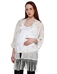 Oxolloxo Maternity Printed Shrug