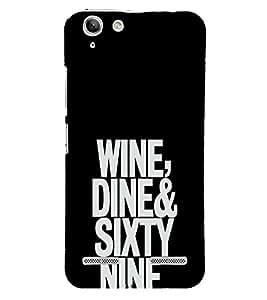 EPICCASE Wine, Dine, 69 Mobile Back Case Cover For Lenovo Vibe K5 Plus (Designer Case)
