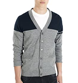 Duncan Color Block Cardigan