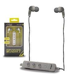 Blau Fünf Stereo Sports Bluetooth Earphones Koniycoi KB-S800- White