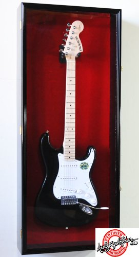 Acoustic & Electric Guitar Display Case LED Lighting Shadowbox