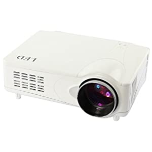 Veritable projecteur LED HD 3D Videoprojecteur 1080P 50,000 Hrs HDMI DVB-T USB SD