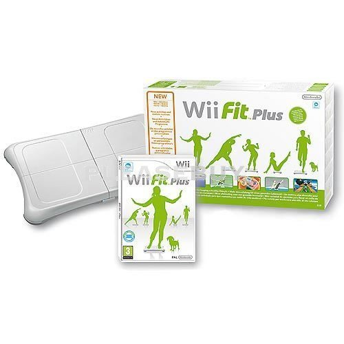 Wii Fit Plus with Balance Board Bundle