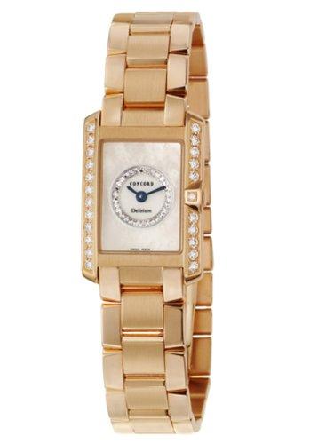 Concord Women's 311240 Delirium 18K Gold Watch