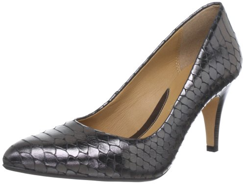 Clarks Cedar Chest Peep-Toe Womens - Grey (5.5 UK)