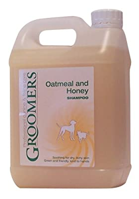 Groomers Oatmeal and Honey Shampoo 2.5 litre