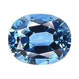 Blue Tourmaline Simulated Loose Unset Gemstone 21ct Oval 18mm (Qty=1)