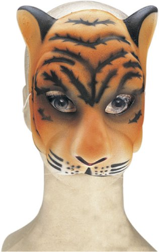 Halloween Tiger Costume Face Mask