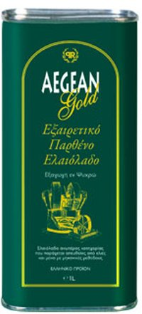 Aegean Gold Extra Virgin Olive Oil From Lesvos Island 1lt by Protoulis
