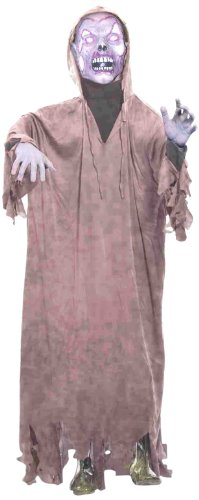 Forum Novelties Life Size Latex Zombie Hooded Halloween Prop with Stand