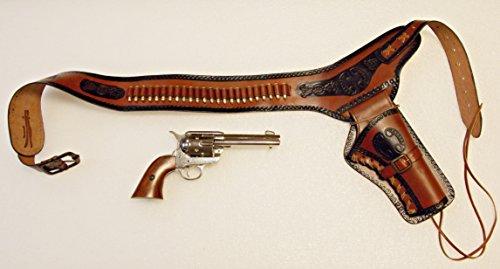 revolver-belt-holster-gun-belt-with-brass-24-cartridges-and-colt-peacemaker