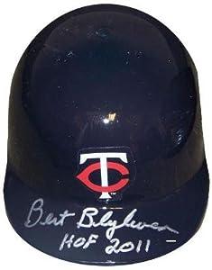 Bert Blyleven signed Minnesota Twins Mini Batting Helmet HOF 2011- MLB Hologram -... by Sports Memorabilia