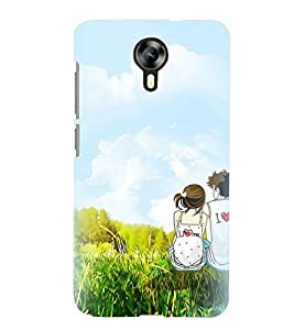 Printvisa Animated Romantic Couple Back Case Cover for Micromax Canvas Xpress 2 E313::Micromax Canvas Xpress 2 (2nd Gen)