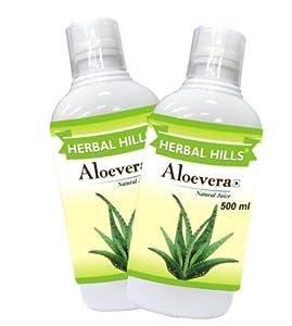 Herbal Hills Aloe Vera Juice - 500 ml (Combo)