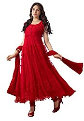 Royal Export Brasso Anarkali Dress Material