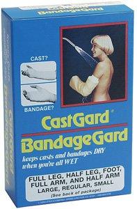 Castgard Half Leg Adult Bandagegard, Size Large