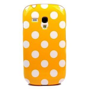 Wall- Cute Big Point TPU GEL Soft Skin Case Cover for Samsung Galaxy