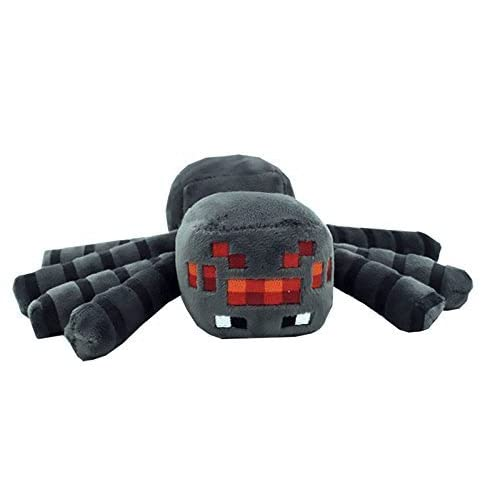 Just Model 7 Spider Plush Mini Toy Grey Free