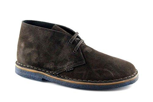 FRAU 25B2 caffè scarpe uomo pedule desert boot 45