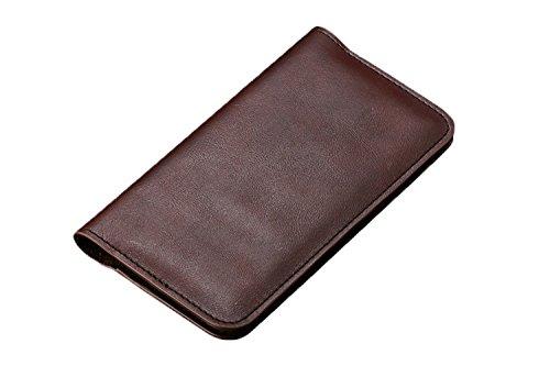 Exklusiver-Echtleder-Smartphone-Geldbeutel-Geldbrse-Tasche-Hlle-Case-Halter-Kartenhalter-Kartenetui-Schutzhlle-Schlsselmppchen-Etui-Geld-Bargeld-Geldscheine-EC-Karte-Kreditkarte-Mnzen-Geldschein-Karte
