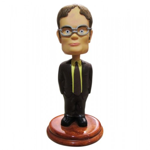 41%2B2rjo8z L Reviews The Office: Dwight Schrute Bobblehead