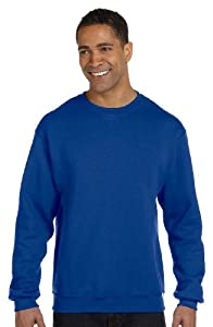 Russell Athletic Men's Dri Power Crewneck Sweatshirt, Royal Blue, Large
