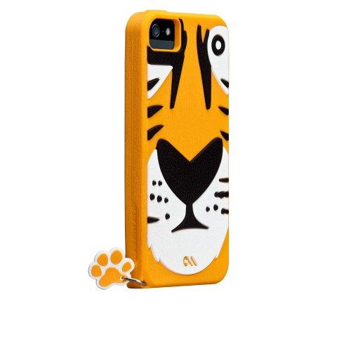 Case-Mate 日本正規品 iPhone5 CREATURES: Tigris Case, Yellow クリーチャーズ: チグリス シリコン ケース, イエロー CM022553